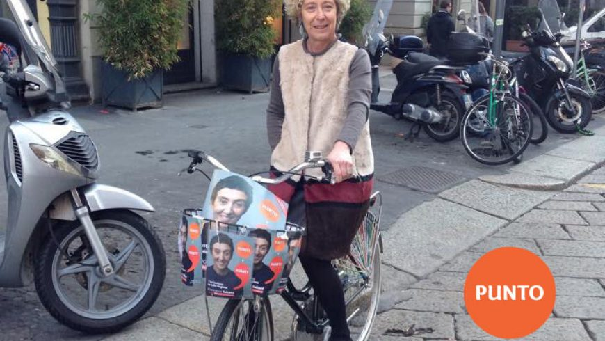 Il mio voto a Francesca Balzani #puntoeavanti;